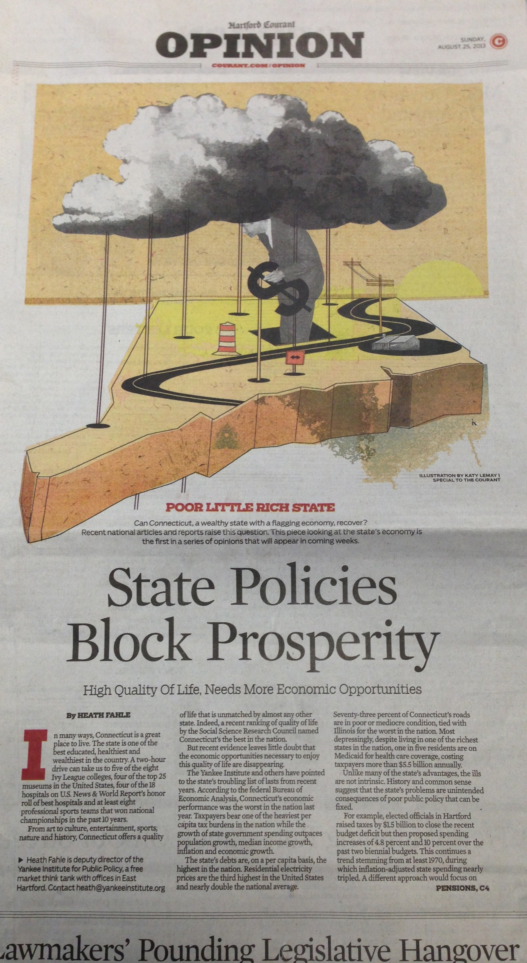 Fahle: State Policies Block Prosperity