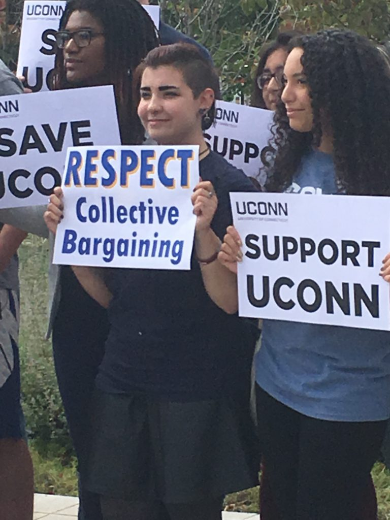 Committee approves $15 million UConn graduate assistant union contract
