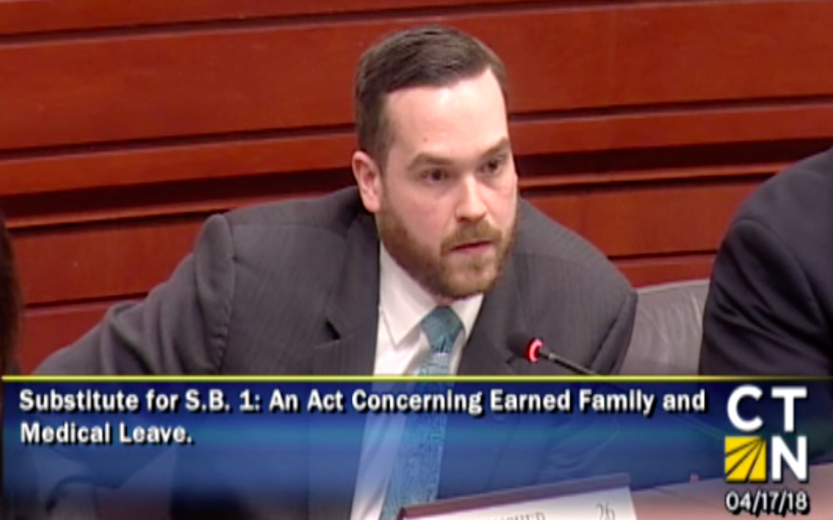 """Connecticut FMLA bill would give $12,000 to care for """"third cousin, once removed"""""""
