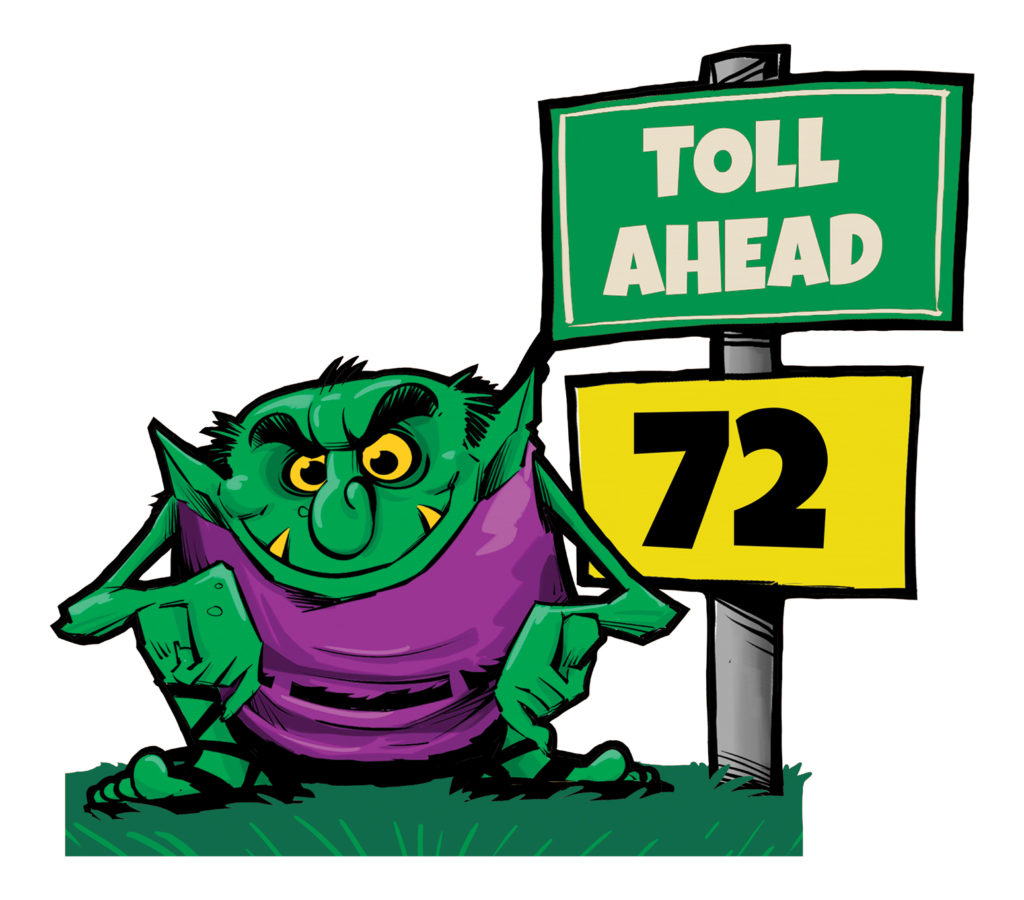 Courant: 'Toll troll' comes to Connecticut state Capitol ahead of key vote on highway tolls