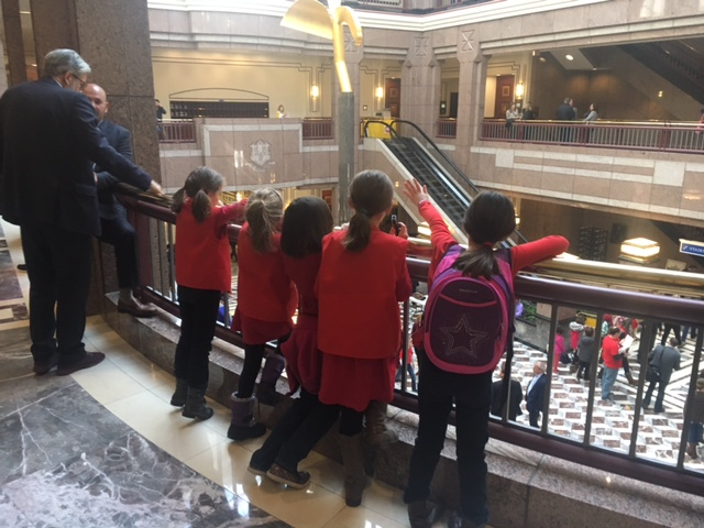 Home- Schoolers Warn of DCF Monitoring After Rep. Email, Descend on Capitol