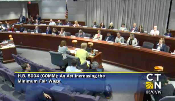 Appropriations Committee Approves $15 Minimum Wage