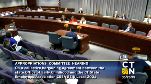Appropriations Committee Passes $8 Million Union Contract for Child Care Providers