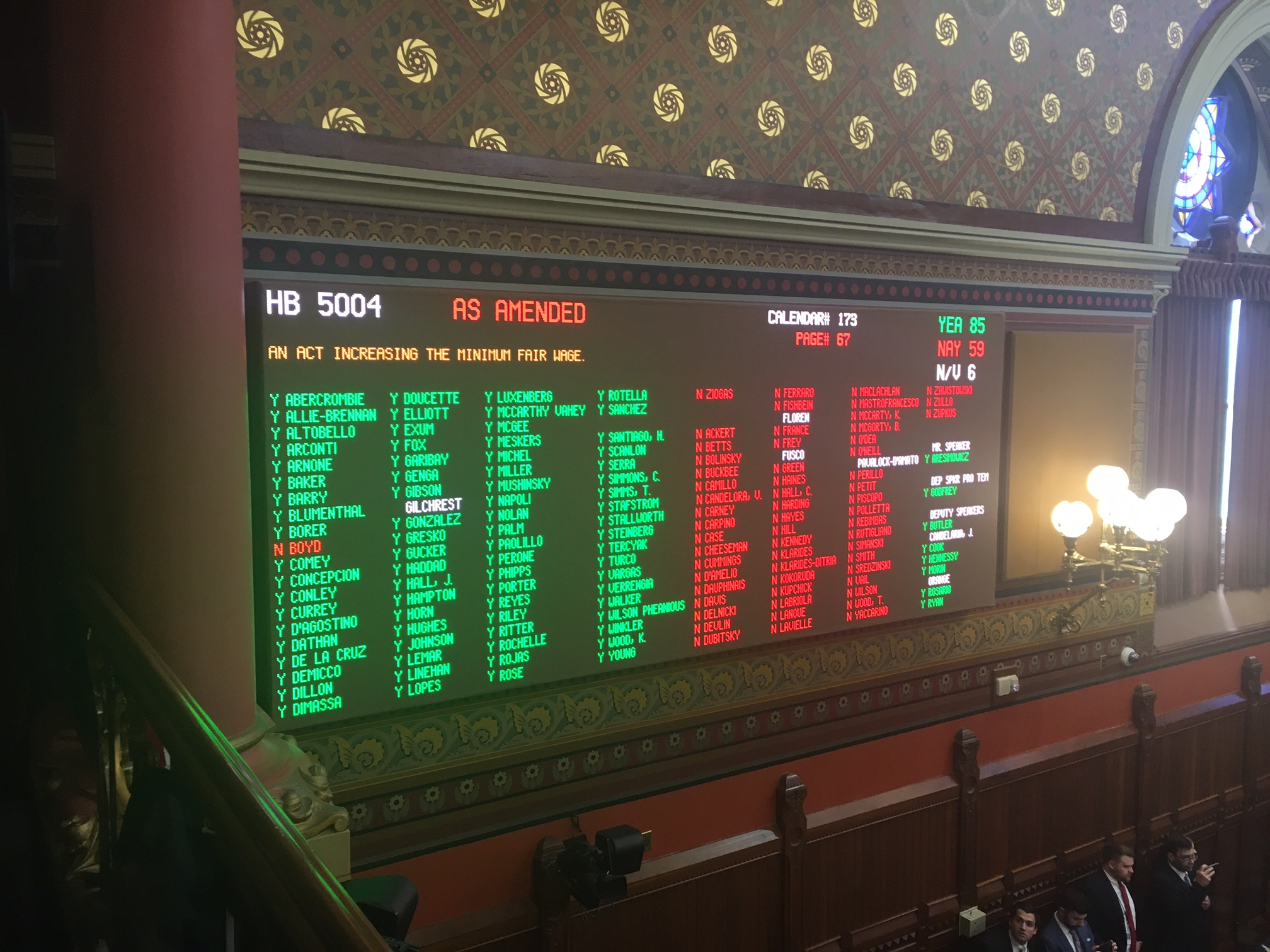 House Passes $15 Minimum Wage After Marathon Debate