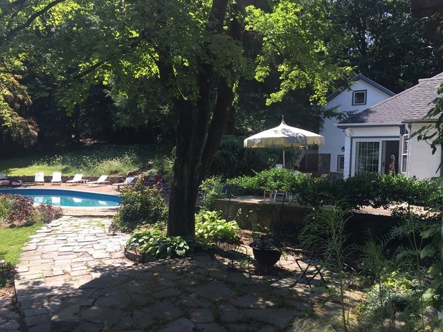 Rep. Anne Hughes hosted pool party for the CT Working Families Party at her Easton estate