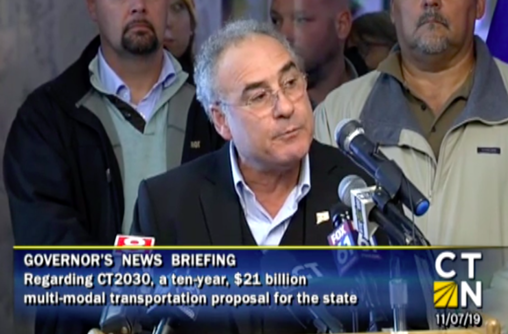 Big payoff to big labor in Gov. Lamont's new transportation plan