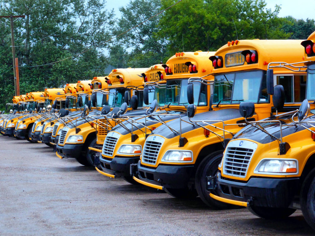 Ellington saves 75 percent on school bus contract using language in Lamont's executive order