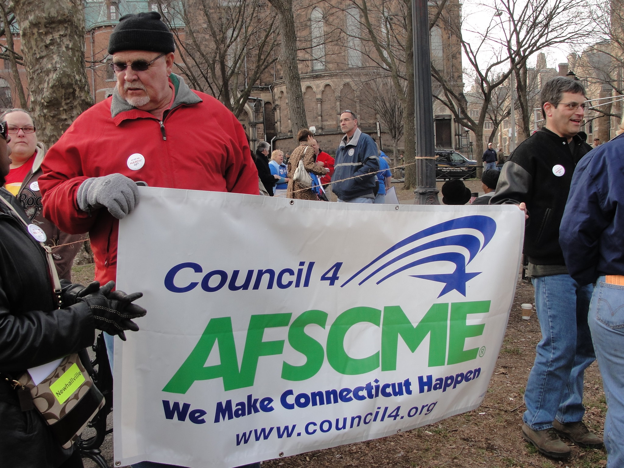New Haven Local 884 union president canned by AFSMCE International