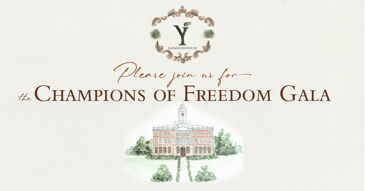 Yankee Institute 2021 Gala Event Page